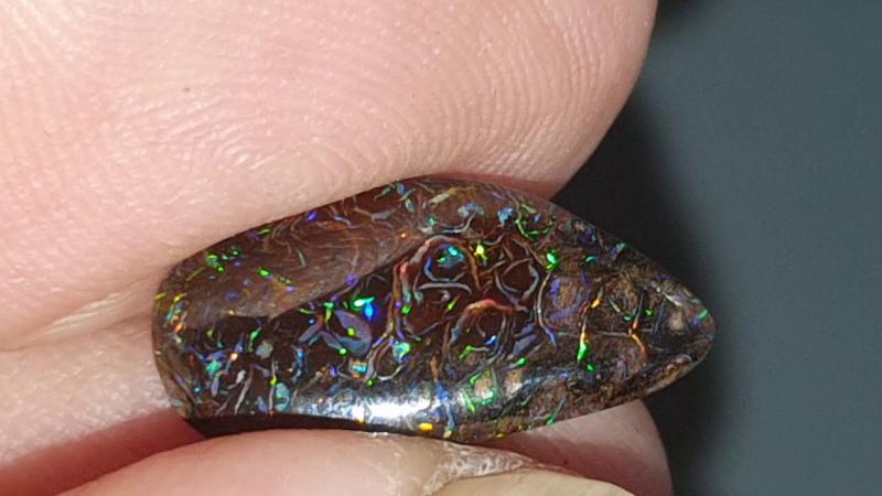 Beautiful Boulder Opal from Yowah