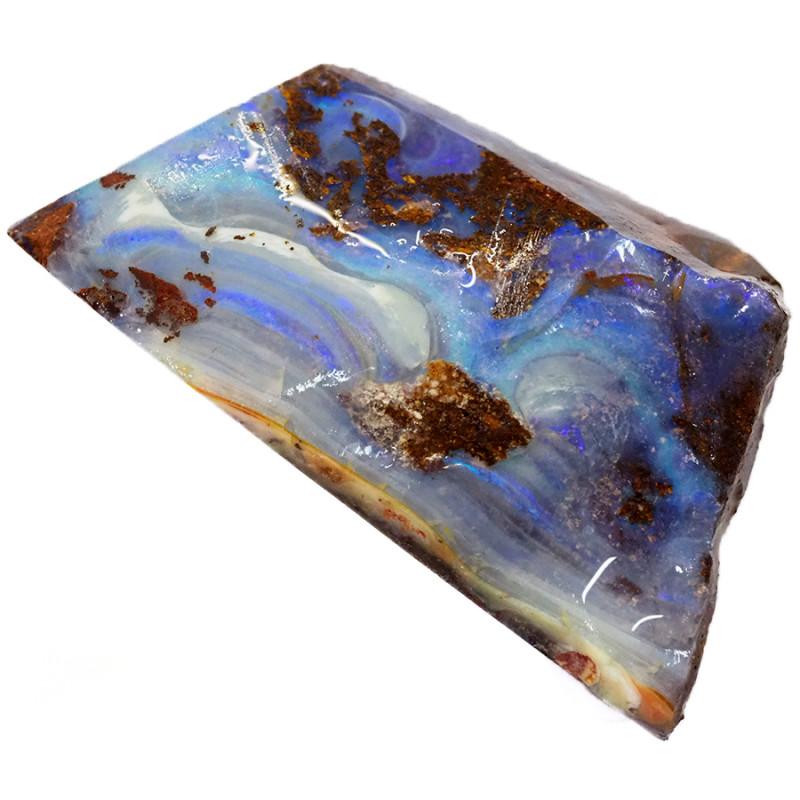 84.65cts Boulder Opal Rough/Rub Pre-Shaped  S1262