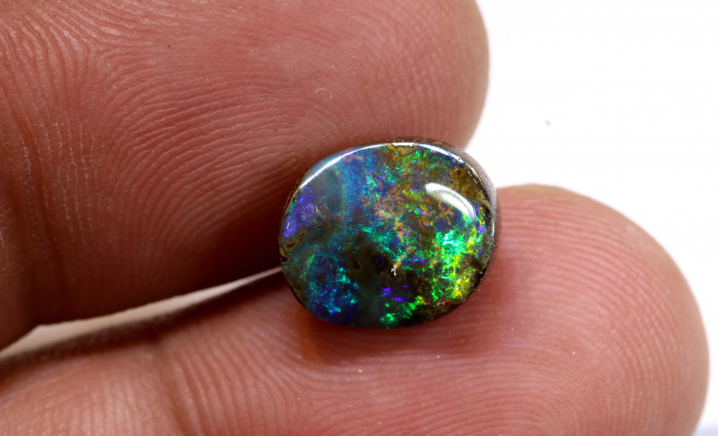 4.25cts Natural Australian Boulder Opal Solid Stone DO-5