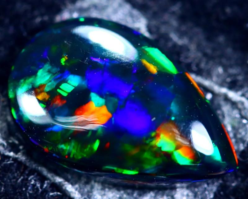 1.43cts Natural Ethiopian Smoked Black Opal / HM152