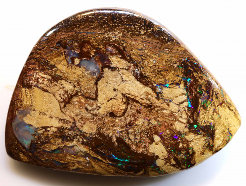 44.40 CTS BOULDER WOOD FOSSIL OPAL STONES   NC-4710