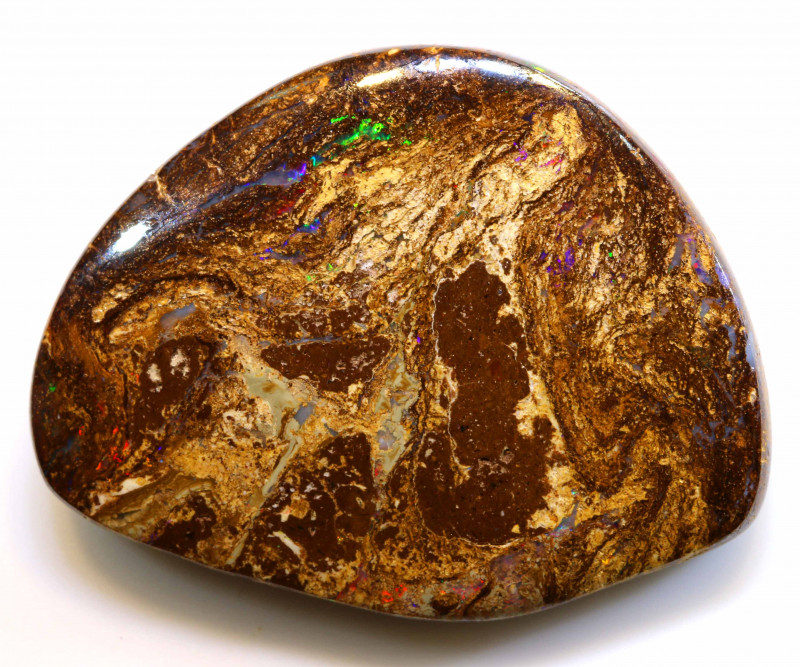 44.30 CTS BOULDER WOOD FOSSIL OPAL STONES   NC-4713