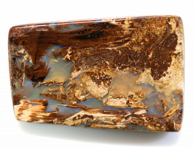 29.80 CTS BOULDER WOOD FOSSIL OPAL STONES   NC-4725
