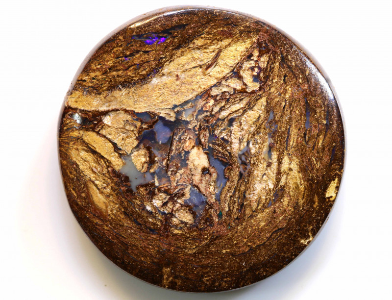 51.10 CTS BOULDER WOOD FOSSIL OPAL STONE   NC-4741