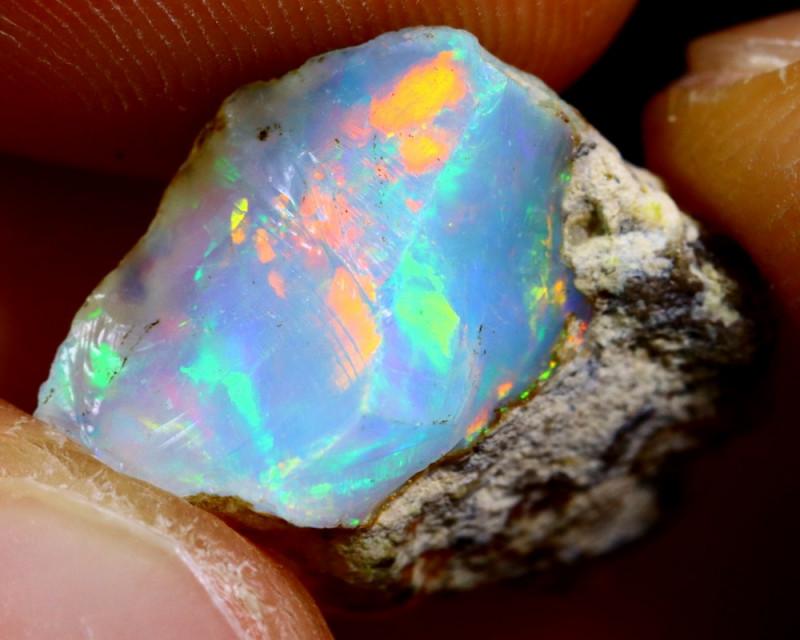 6cts Ethiopian Welo Rough Opal / WR2307