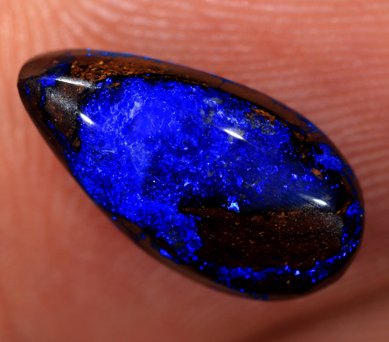 3.35ct 13x6.7mm Queensland Boulder Opal  [LOB-3269]