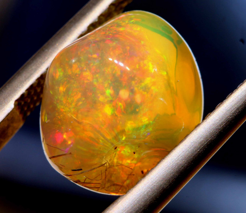 5.10 CTS MEXICAN FIRE OPAL STONE  FOB -2087