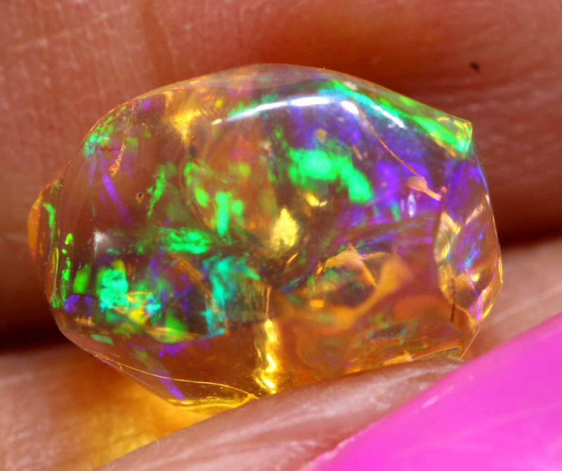 3.60 CTS MEXICAN FIRE OPAL STONE  FOB -2108