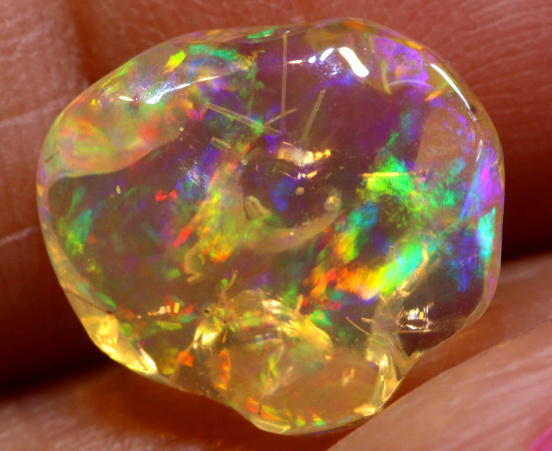 2.90 CTS MEXICAN FIRE OPAL STONE  FOB -2111