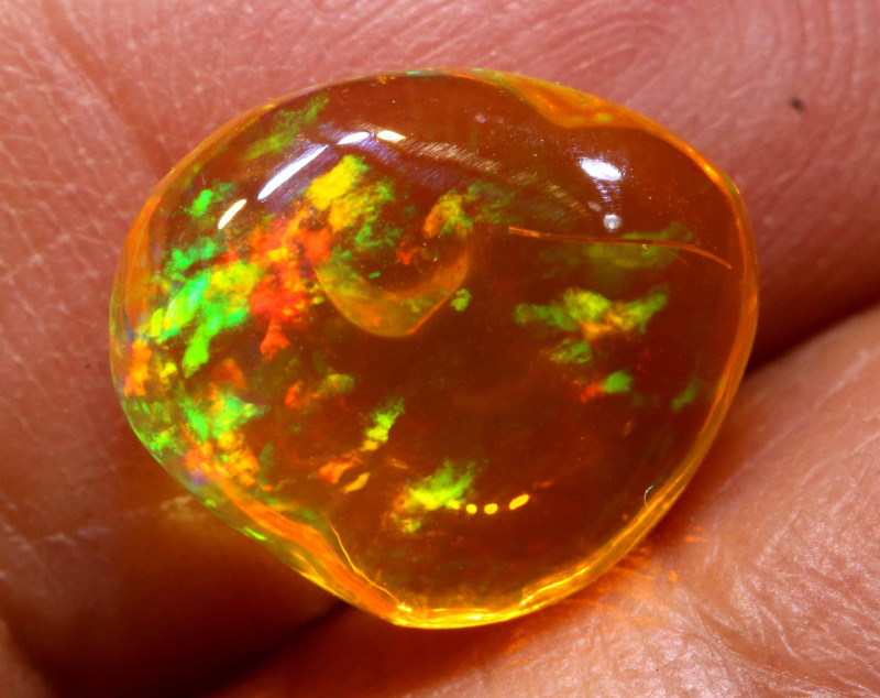 2.10 CTS MEXICAN FIRE OPAL STONE  FOB -2113