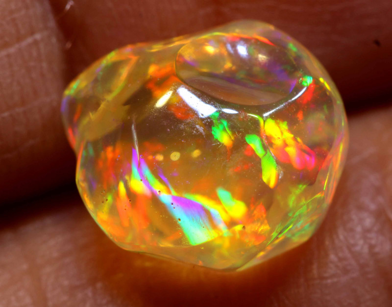 3.30 CTS MEXICAN FIRE OPAL STONE  FOB -2116