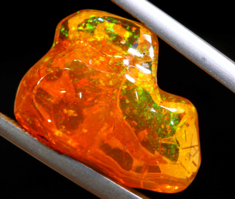 6.50 CTS MEXICAN FIRE OPAL STONE  FOB -2126