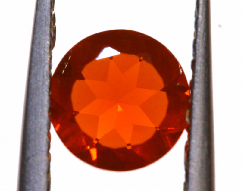 0.54 CTS MEXICAN FIRE OPAL FACETED STONE  FOB -2153