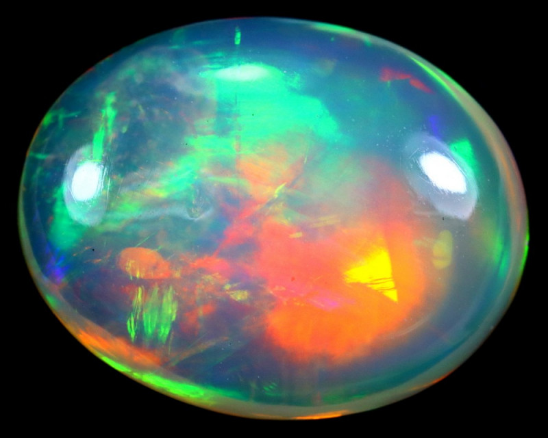 2.34cts Natural Ethiopian Welo Opal / HM221