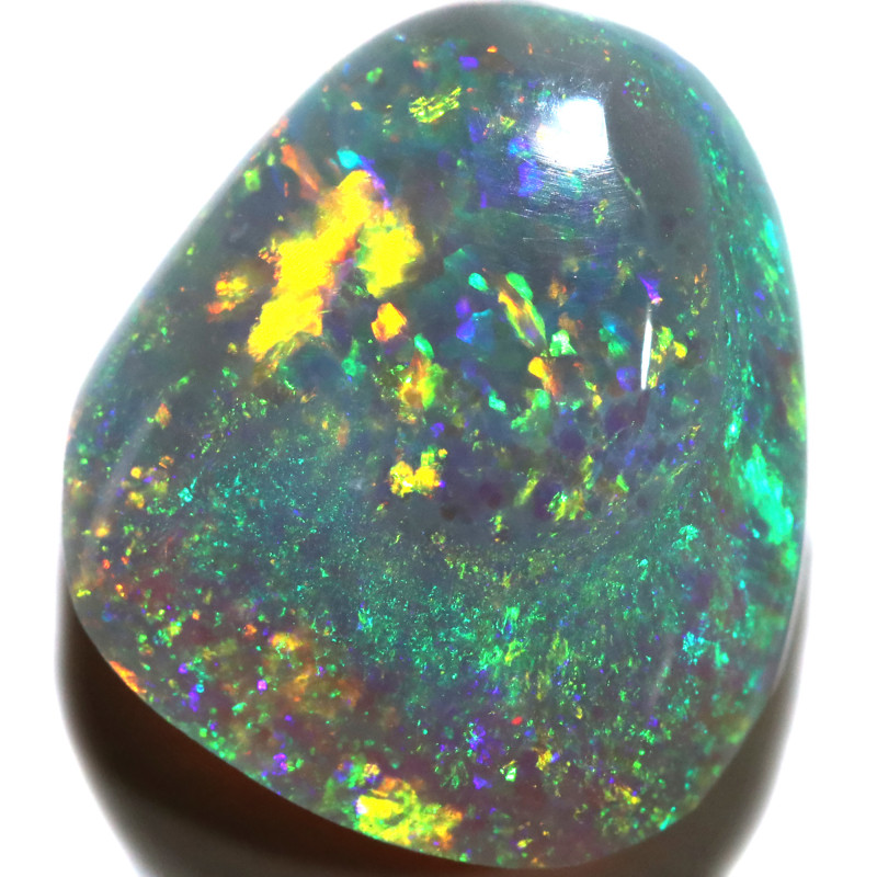 2.73 CTS 2 SIDES  CRYSTAL OPALS FROM LIGHTNING RIDGE [LRO1146]