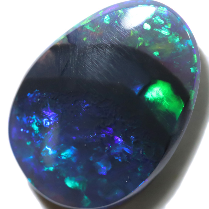 2.78 CTS BLACK OPAL STONE-FROM LIGHTNING RIDGE - [LRO1147]