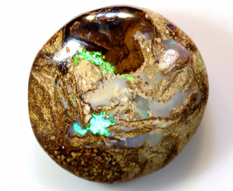 12.7 CTS BOULDER WOOD FOSSIL OPAL STONES   NC-4830