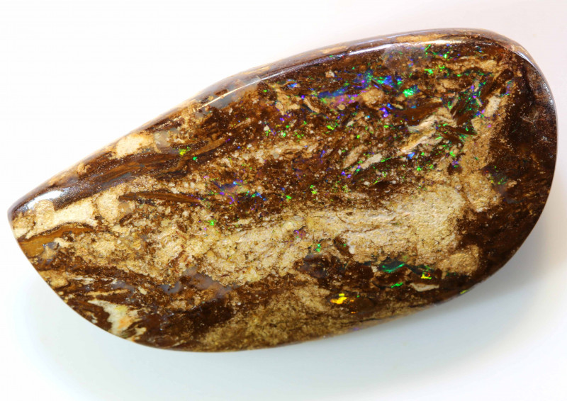 24.6 CTS BOULDER OPAL WOOD FOSSIL STONE   NC-4892