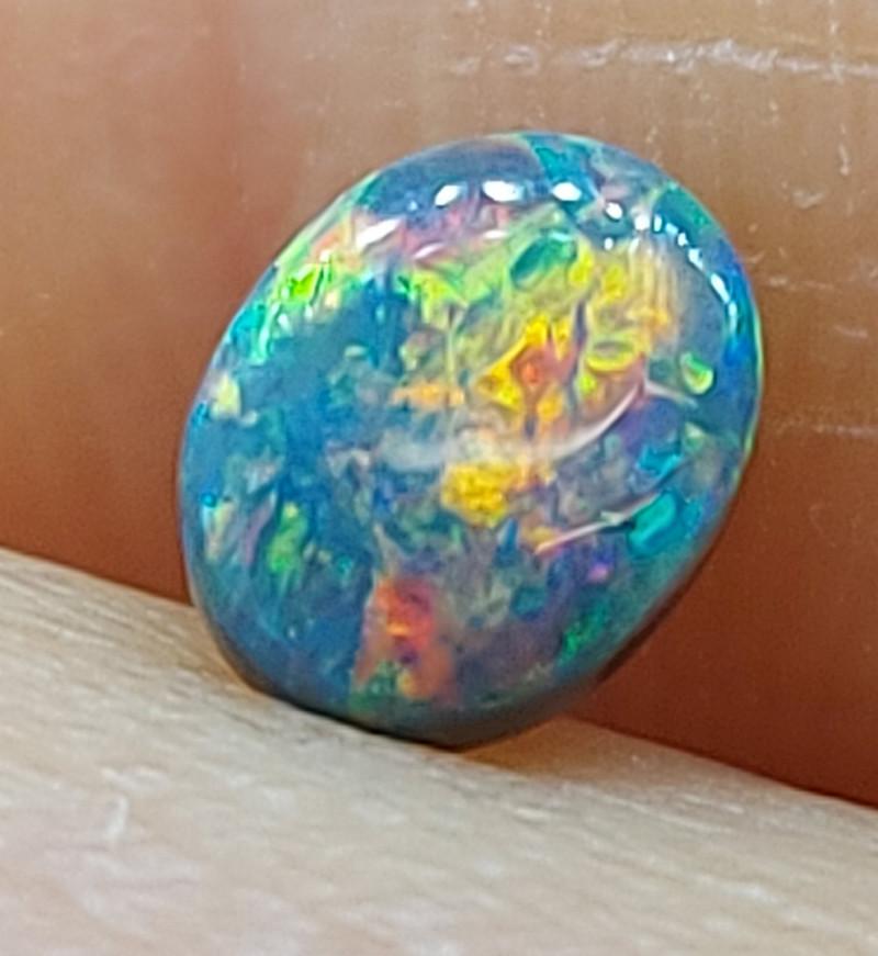 Black Opal 0.42 Carats