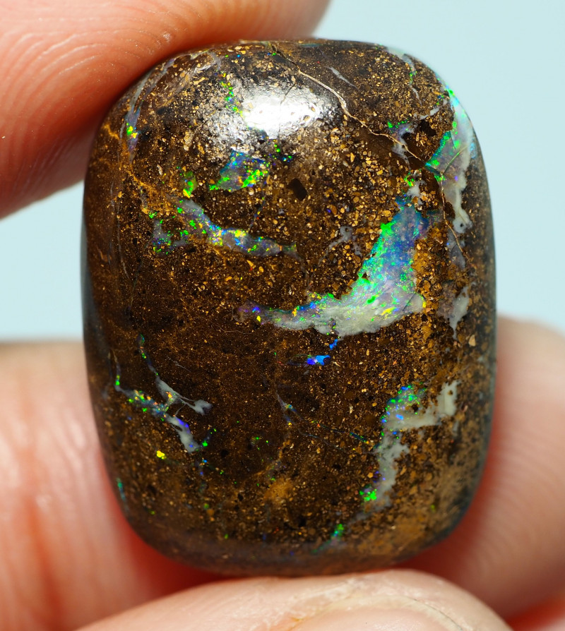 15.65CTS    YOWAH OPAL WITH AMAZING PATTERN  BJ173
