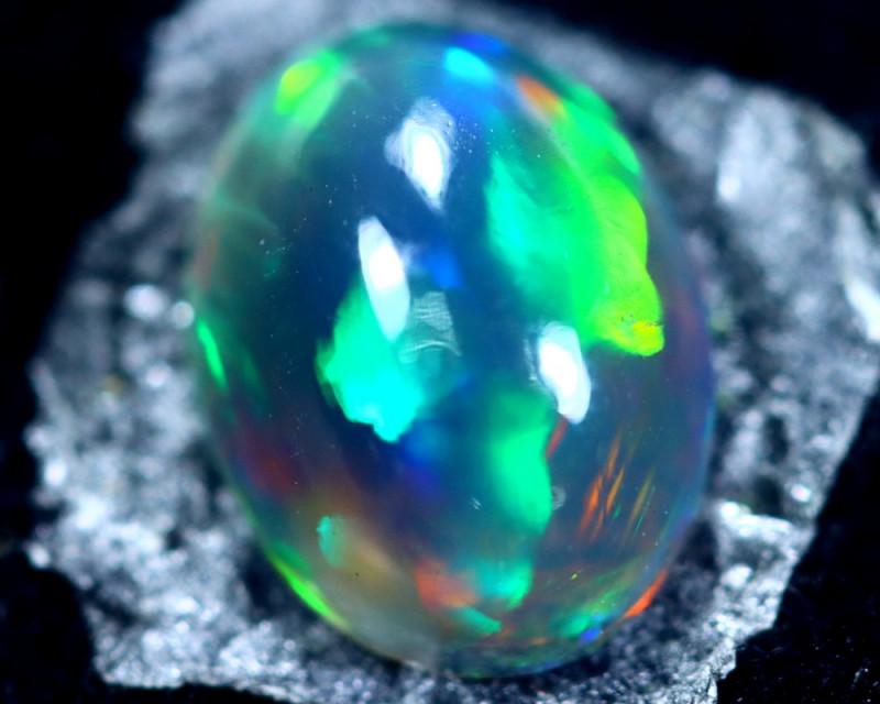1.49cts Natural Ethiopian Smoked Black Opal / BF2196