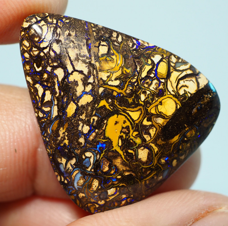 22.75CTS    YOWAH OPAL WITH AMAZING PATTERN  BJ201