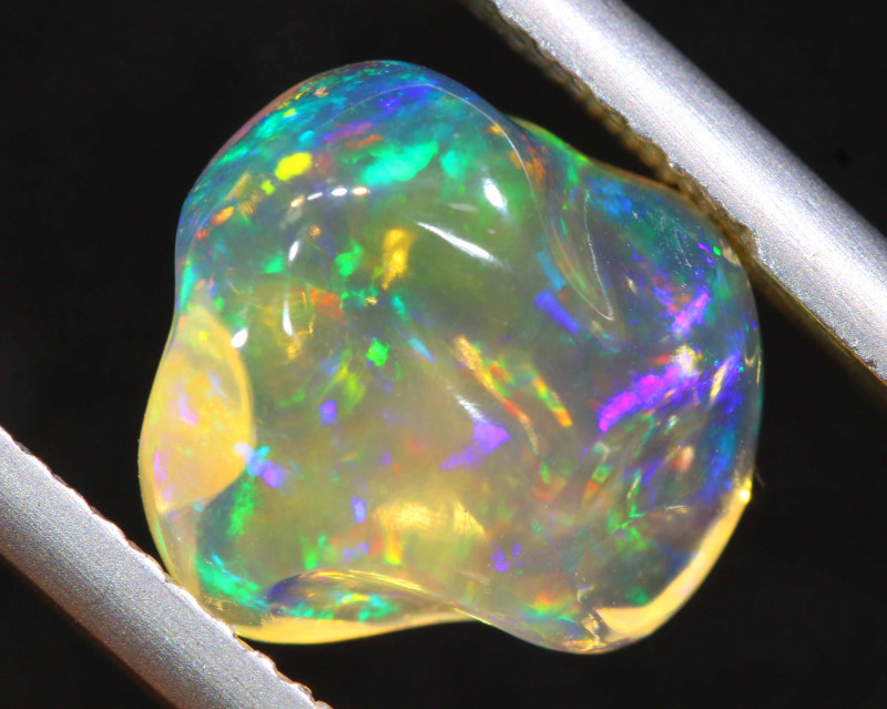 3 CTS MEXICAN FIRE OPAL   FOB -2268