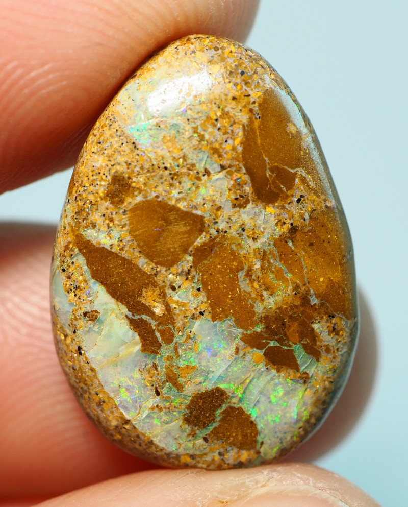 11.05CTS    YOWAH OPAL WITH AMAZING PATTERN  BJ208