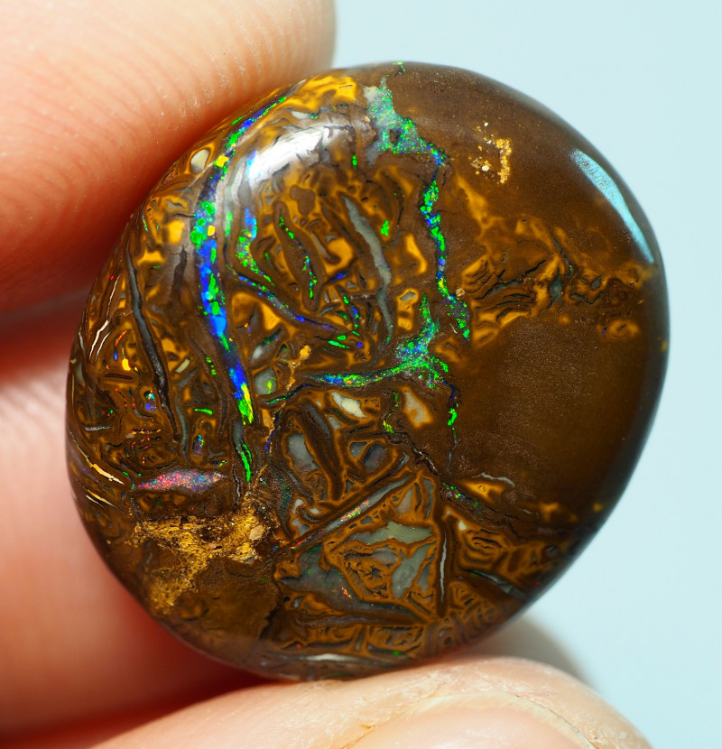 19.60CTS    YOWAH OPAL WITH AMAZING PATTERN  BJ211