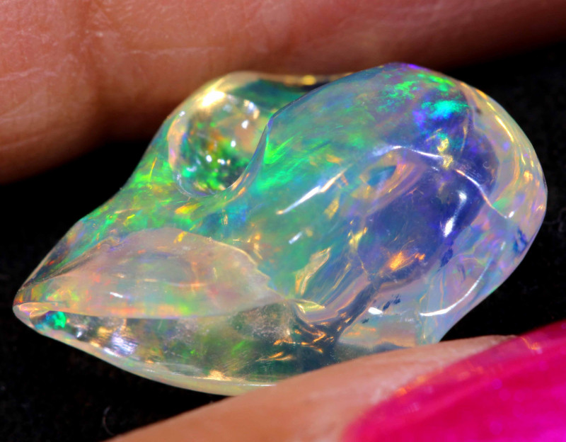 3.95 CTS MEXICAN FIRE OPAL   FOB -2279