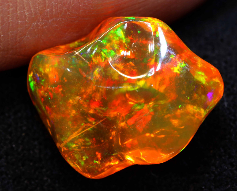 3.70 CTS MEXICAN FIRE OPAL   FOB -2300