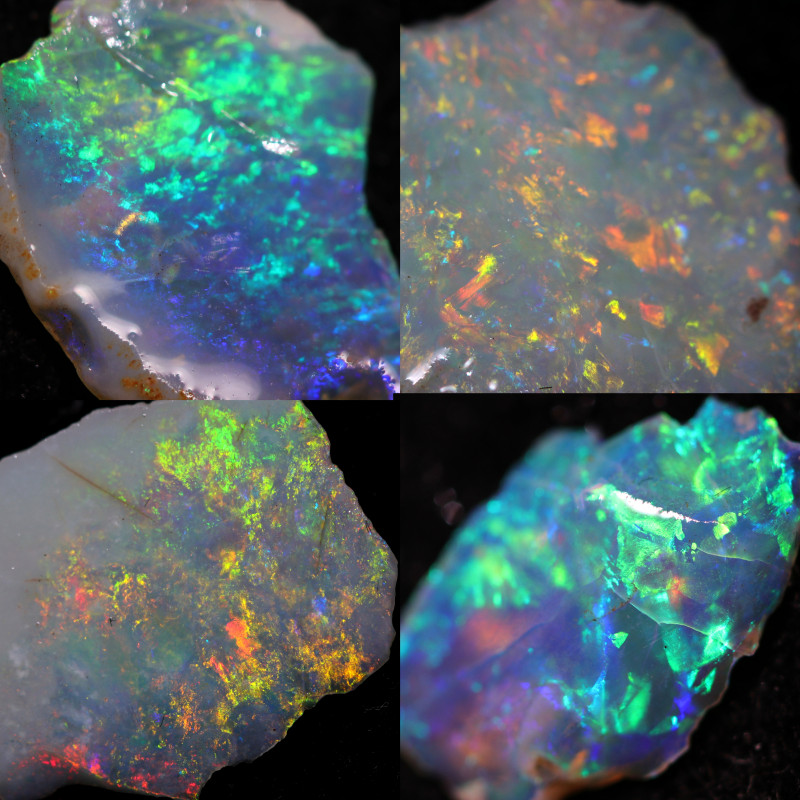 194.50 CTS OPAL INLAY SECONDS  PARCEL FROM LIGHTNING RIDGE[ BRP244]