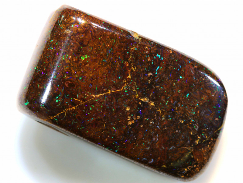 36.45 CTS BOULDER OPAL PENDANT DRILLED NC-7433