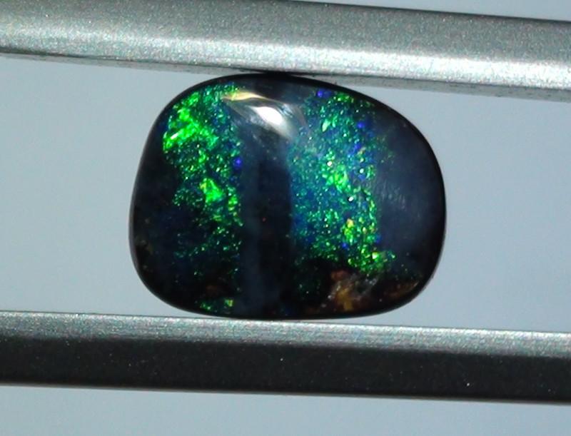 1.85 ct Gem Blue Green Color Queensland Boulder Opal