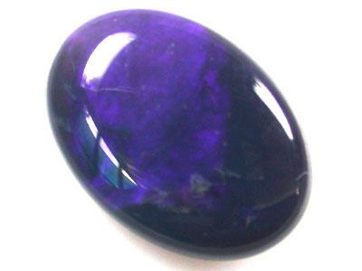 BLACK OPAL 4.50 CARATS  BLUE HUES  RD133