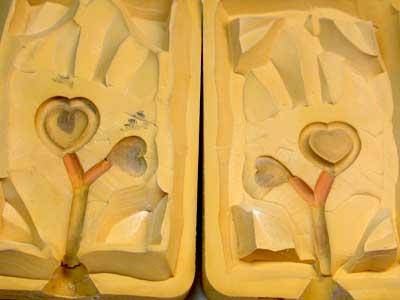 Rubber Moulding Handmade Designs SCO106