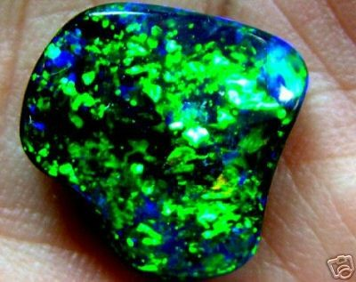 BOULDER OPAL AAA  STARRY GREEN 9.1CTS  RRP$60000.00(TBO)