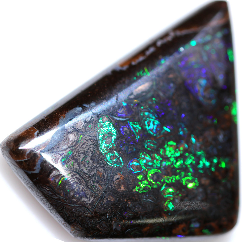 34.66 CTS YOWAH DOUBLE SIDED STONE. [BMA9644]