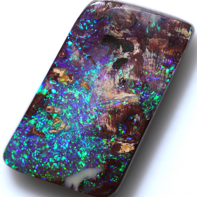 19.55 CTS BOULDER OPAL-WELL POLISHED -WINTON [BMA9650]