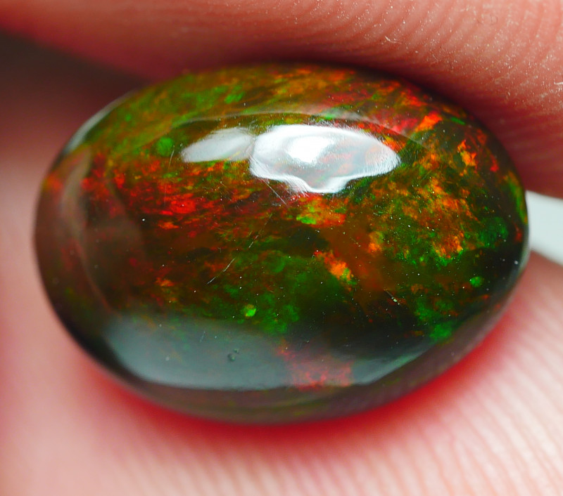 3.210CRT BRILLIANT BRIGHT PATERN WELO OPAL SMOKED*