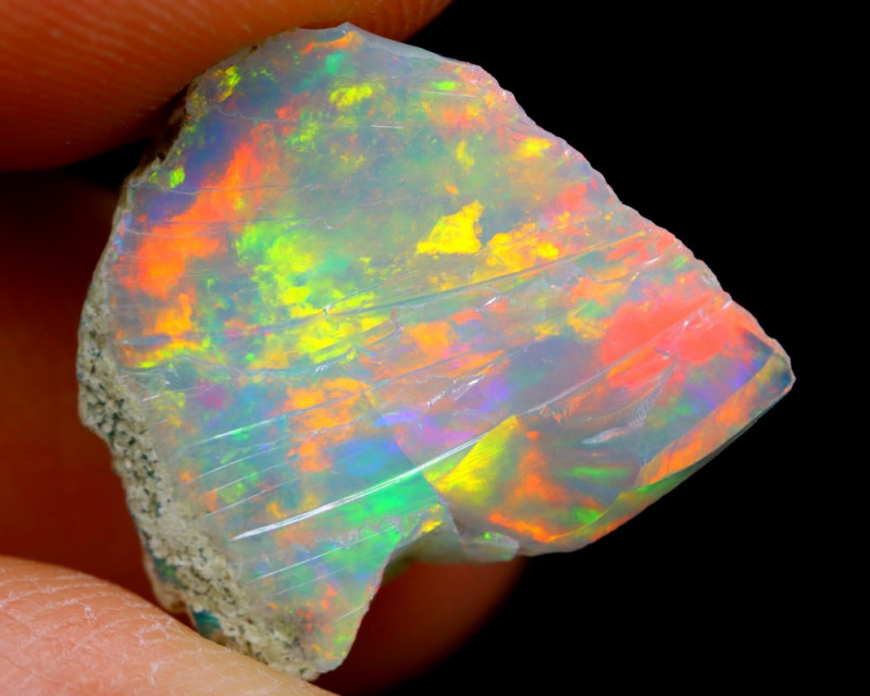 6cts Ethiopian Welo Rough Opal / WR2543