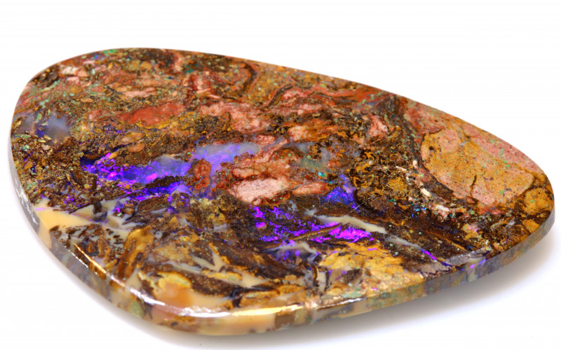 20.45 CTS BOULDER OPAL WOOD REPLACEMENT NC-7552