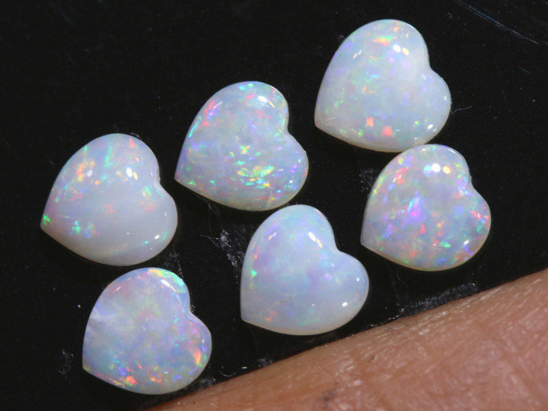 1.50 CTS COOBER PEDY WHITE OPAL PARCEL LO-5926-lightningopals inc