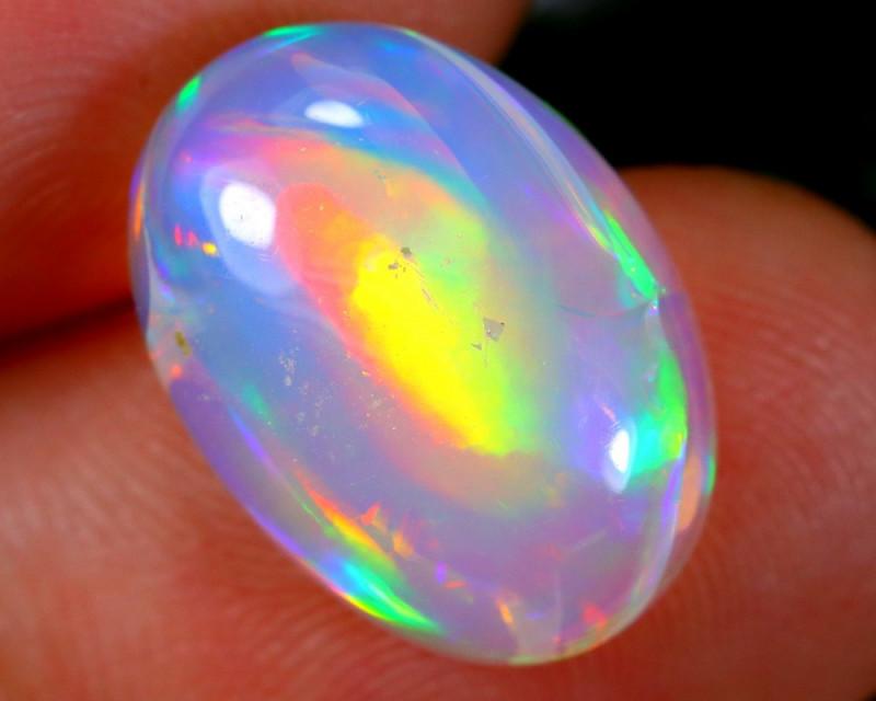 5.76cts Ethiopian Crystal Polished Opal / CR1241