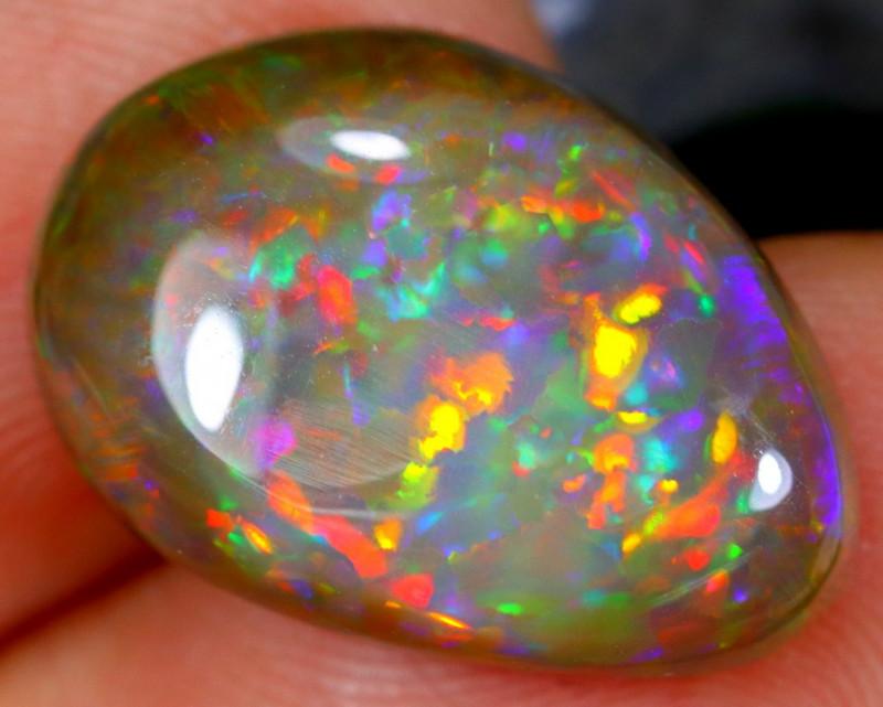 6.64cts Ethiopian Crystal Polished Opal / CR1242