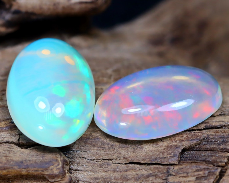Welo Opal 5.42Ct Natural Ethiopian Play Of Color Welo Opal F2703