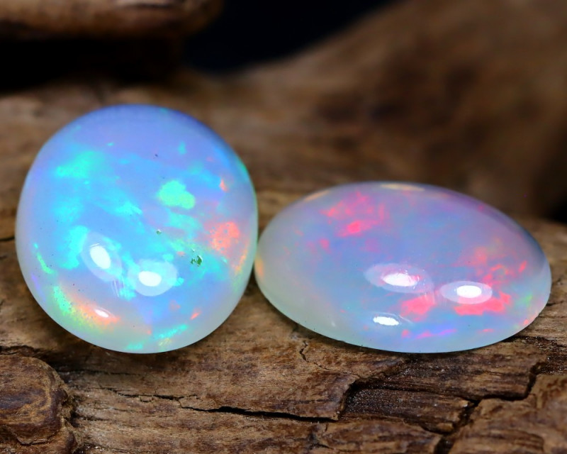 Welo Opal 4.53Ct Natural Ethiopian Play Of Color Welo Opal F2706
