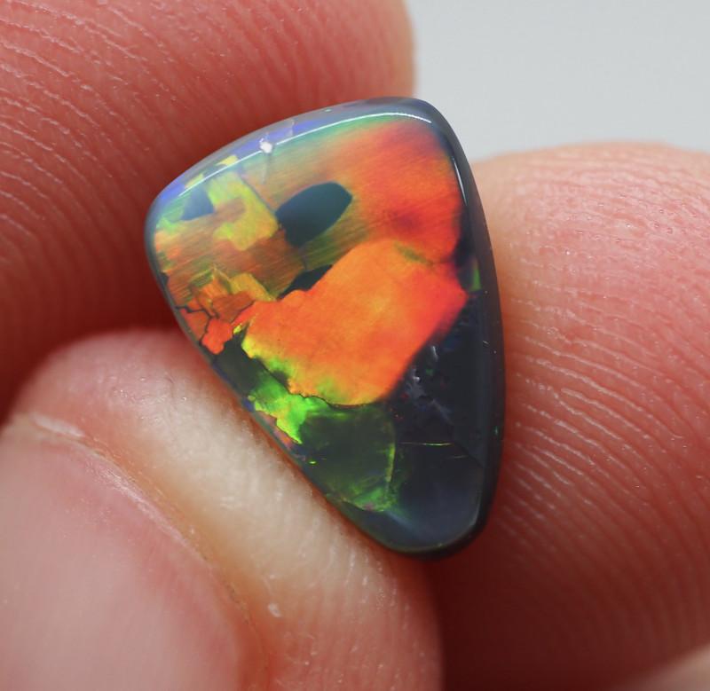 1.96ct  Black Opal  Lightning Ridge  DM1-96B-R