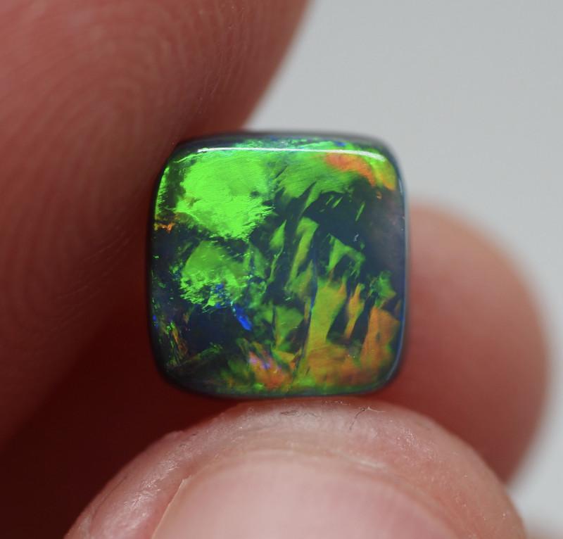 1.23ct Black Opal  Lightning Ridge  DM1-23B-R