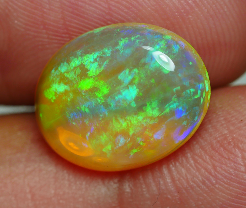 3.980 CRT BRILLIANT PACTHWORK RIBBON PATTERN PLAY COLOR WELO OPAL-